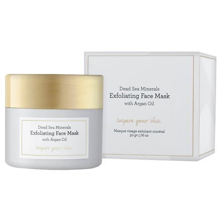 Dead Sea Minerals Exfoliating Face Mask with Argan Oil / Laline