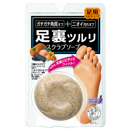 Foot Polish Scrub Soap / TSURURI