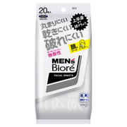 Face Wiping Sheets (Fragrance Free) / Men's Biore