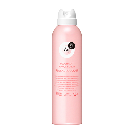 POWDER DEODORANT SPRAY (Floral Bouquet) / Ag DEO24