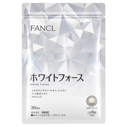 White Force Supplement / FANCL