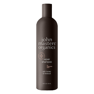 Repair Shampoo for Damaged Hair with Honey & Hibiscus N / john masters organics