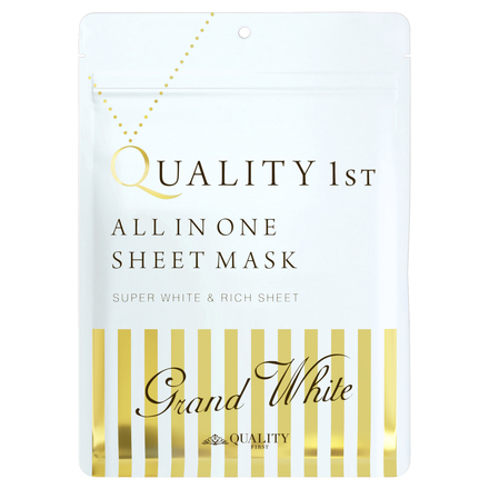All In One Sheet Mask Grand White / QUALITY FIRST