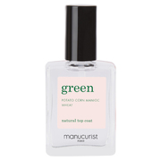 green natural top coat / manucurist