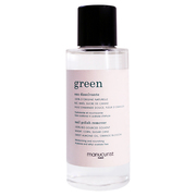 green natural nail remover / manucurist