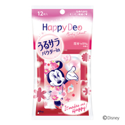 Happy Deo Body Sheet Moisturizing Smooth (Flower Soap Fragrance) / Mandom