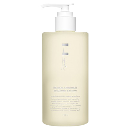 NATURAL HAND WASH (BERGAMOT & HINOKI)