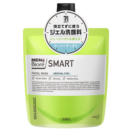 SMART GEL FACIAL WASH (MENTHOL TYPE)