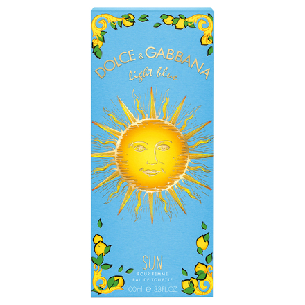 Light Blue SUN EAU DE TOILETTE / DOLCE & GABBANA BEAUTY