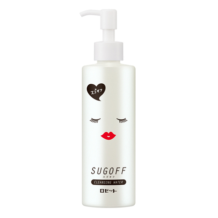 SUGOFF CLEANSING WATER / ROSETTE