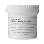 HERBAL MASSAGE SCRUB (BERGAMOT / PEPPERMINT) / MARKS&WEB