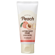 Premium Peach Cotton Fuzzy Cream / SKINFOOD