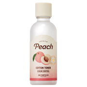 Premium Peach Cotton Toner / SKINFOOD
