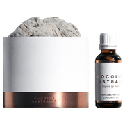 LEATHER, TUBEROSE & DRIFTWOOD - SOL LAVA ROCK MINERAL DIFFUSER