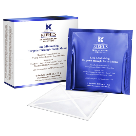 Line-Minimizing Targeted Triangle Patch-Masks / KIEHL'S SINCE 1851