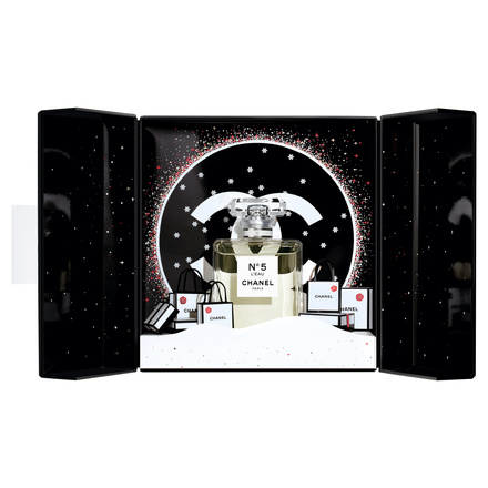 CHANEL N°5 L'EAU DE TOILETTE HOLIDAY THEATER COFFRET / CHANEL