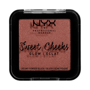 SWEET CHEEKS CREAMY POWDER BLUSH GLOW / NYX Professional Makeup