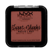 SWEET CHEEKS CREAMY POWDER BLUSH MATTE / NYX Professional Makeup