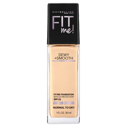 FIT ME DEWY + SMOOTH FOUNDATION / MAYBELLINE NEW YORK