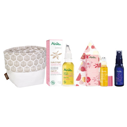 Organic Holiday Coffret Argan Rose