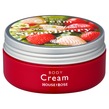 Body Cream ST (Strawberry Fragrance) / HOUSE OF ROSE