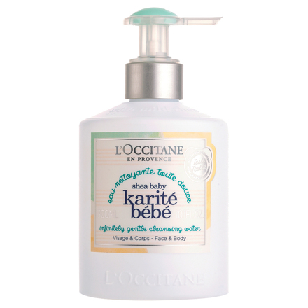 SHEA BABY INFINITELY GENTLE CLEANSING WATER / L'OCCITANE