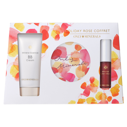 HOLIDAY ROSE COFFRET / ONLY MINERALS