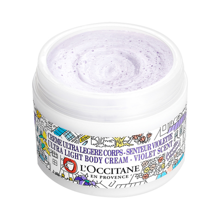 Shea Violet Ultra Light Body Cream / L'OCCITANE