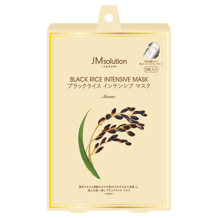 BLACK RICE INTENSIVE MASK / JMsolution -Japan-