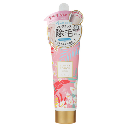 Hair Removing Cream (Citrus White Lily) / SLINKY TOUCH self spa