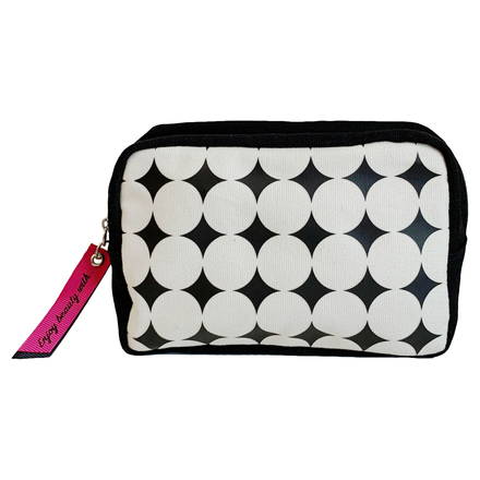 Square-Shaped Makeup Bag / @cosme store