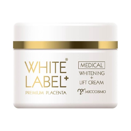WHITE LABEL+ Medicated Placenta Whitening + Lift Cream / WHITE LABEL