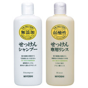 Additive-Free Soap Shampoo/Conditioner / MIIYOSHI