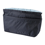 Portable Organizing Pouch With Partition Case / MUJI