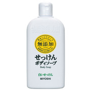 Additive-Free Body White Soap / MIIYOSHI