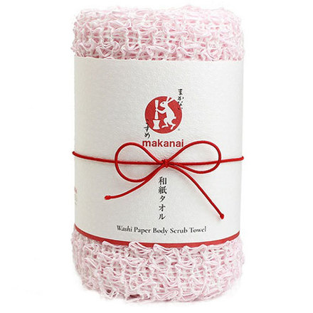 Body Towel from Japanese Paper / Makanai Cosme