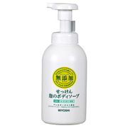 Additive-Free Foam Body Soap / MIIYOSHI